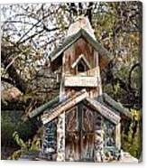 The Birdhouse Kingdom - The Red Crossbill Canvas Print