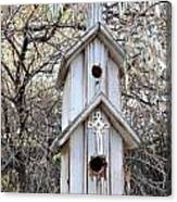 The Birdhouse Kingdom - The Western Wood-pewkk Canvas Print