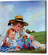 The Birthday Gift Canvas Print