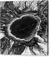 The Black Hole Canvas Print