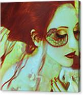 The Bleeding Dream - Self Portrait Canvas Print