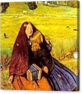 The Blind Girl Canvas Print