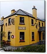The Blind Piper Pub Canvas Print
