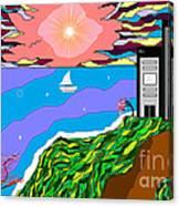 The Bliss Resort Canvas Print