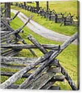 The Bloody Lane At Antietam Canvas Print
