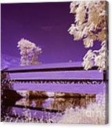 The Blue Bridge Canvas Print