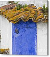 The Blue Corner In The White House Canvas Print