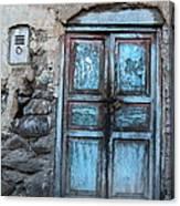 The Blue Door 1 Canvas Print