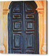 The Blue Door Venice Canvas Print