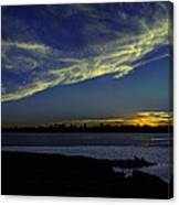 The Blue Hour Sunset Canvas Print