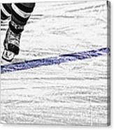 The Blue Line Canvas Print