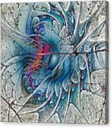 The Blue Mirage Canvas Print