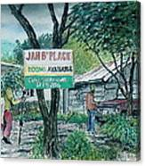 The Blue Mountains Of Jamaica Canvas Print
