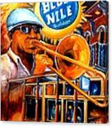 The Blue Nile Jazz Club Canvas Print