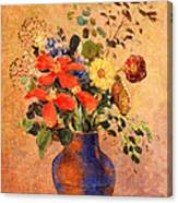 The Blue Vase Canvas Print