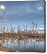 The Blue Water Desert Canvas Print