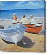 The Boaters Canvas Print