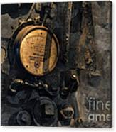 The Boiler Gauge Canvas Print