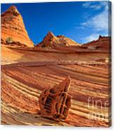 The Bone Yard In The North Coyote Buttes Canvas Print