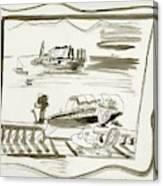 The Borromean Island On Lake Maggiore In Italy Canvas Print