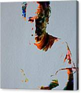The Boss Bruce Springsteen Canvas Print