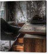 The Boss's Chair  Canvas Print