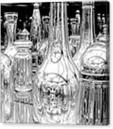 The Bottles Canvas Print