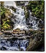 The Bottom Of Mingo Falls Canvas Print