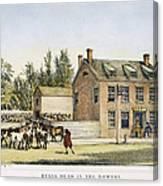 The Bowery, New York, 1783 Canvas Print