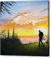 The Bowhunter Canvas Print