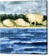 The Bowl - Dunes Study Canvas Print