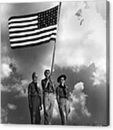 The Boy Scouts Canvas Print