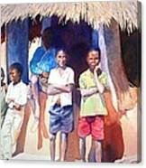 The Boys Of Malawi Canvas Print