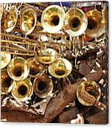 The Brass Section Canvas Print