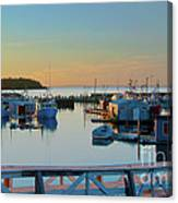 The Break Of A New Day... Canvas Print