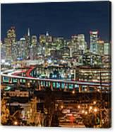 The Breath Taking View Of San Francisco Canvas Print