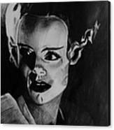 The Bride 3 Canvas Print