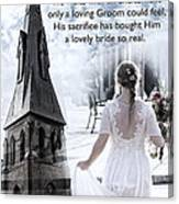 The Bride Of Christ Canvas Print