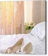 The Brides Sandals Canvas Print