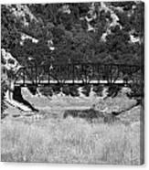 The Bridge 13 Canvas Print