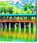 The Bridge 16 Canvas Print