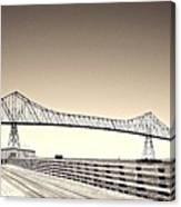 The Bridge At Astoria Canvas Print
