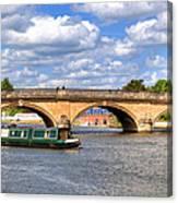 The Bridge At Henley-on-thames Canvas Print