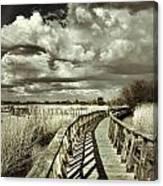 The Bridge Retro Serie Canvas Print