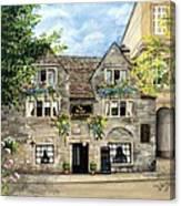 The Bridge Tea Rooms Canvas Print