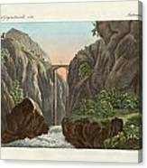 The Bridge To Ronda Canvas Print
