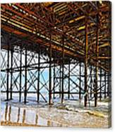 The Brighton Pier  Canvas Print