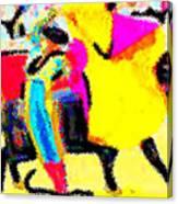 The Brilliance In Bullfighting Canvas Print