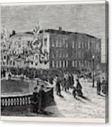 The British Embassy At St Canvas Print