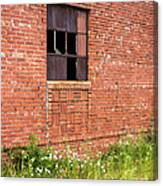 The Broken Window Canvas Print